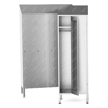 Шкаф металлический напольный