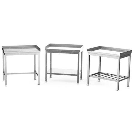 Столы разделочные с 3 бортами