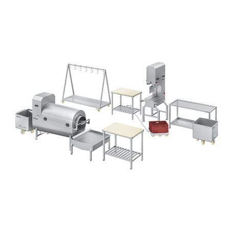 Линия обработки мясокостных субпродуктов